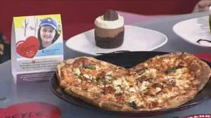 Heart shaped pizzas raising money for CareCare Manitoba