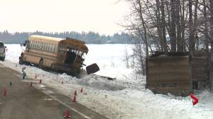 Gravel truck driver sentenced to 6 months in jail for fatal 2018 school bus crash (01:20)
