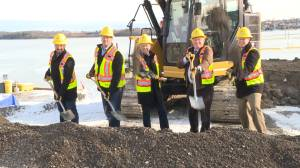 Officials break ground on Kingston's third bridge crossing (02:23)