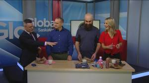 Global News Morning  Saskatoon takes on the hot wing challenge