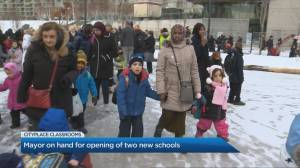 Two new schools open their doors to hundreds of kids in a downtown Toronto neighbourhood