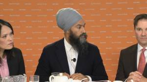 Federal Election 2019: Singh says they have B.C.-specific plan for coastline, housing
