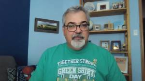 Humboldt Bronco father asks Saskatchewan to unite again and get vaccinated (01:40)