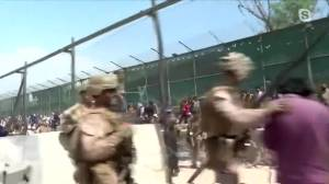 Fears for family stranded in Afghanistan (03:04)