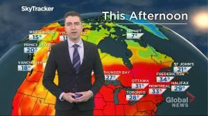 Saskatchewan weather outlook: June 18