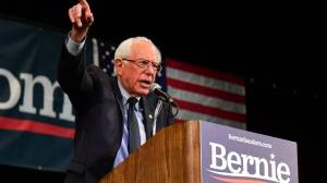 Bernie Sanders hospitalized for chest pains
