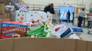 Veterans Association Food Bank in Calgary needs donations