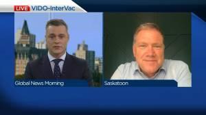 Update on VIDO-InterVac vaccine progress, donation to facility (04:21)