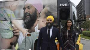 NDP leader Jagmeet Singh launches election campaign