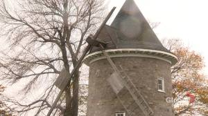 Pointe-Claire's iconic windmill damaged during last Friday's wind storm