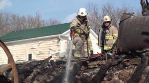 Fire at 2 Colborne barns leaves half a million dollars in estimated damage