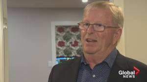 B.C. election 2020: Incumbent Liberal candidate Eric Foster reacts to tight race in Vernon Monashee (01:43)