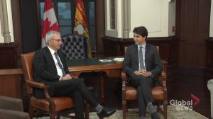 Higgs meets with Trudeau in Ottawa