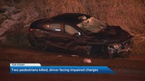 2 killed in crash involving suspected impaired driver, Toronto police say (01:56)