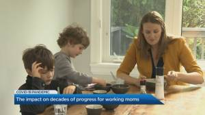 The impact on decades of progress for working moms