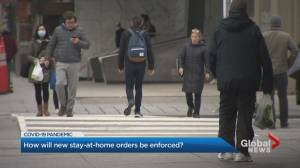 Coronavirus: Ontario law enforcement awaits guidelines on stay-at-home rules (02:23)