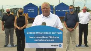 Ontario Premier Doug Ford says people can't 'cross that line' as Minister MacLeod given police detail
