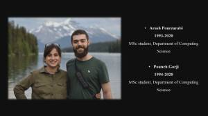 Friend of newlyweds killed in Iran plane crash speaks at Edmonton memorial: 'The kindest people I have ever met'