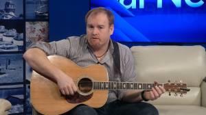 Kingston musician Chris Murphy visits Global News Morning