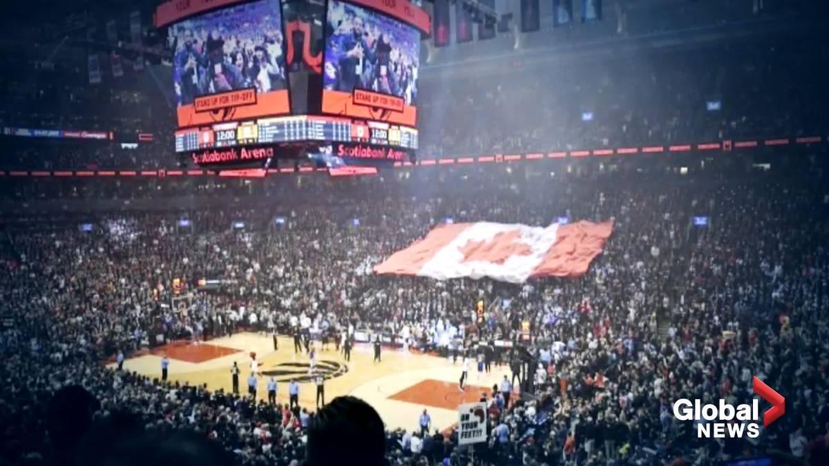Click to play video: 'Toronto Raptors to return to Scotiabank Arena for upcoming season'