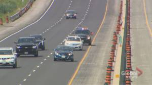 Ontario Provincial Police target stunt drivers during Canada Day