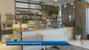 Coronavirus: Halifax restaurants prepare to reopen as COVID-19 restrictions lift Monday (02:05)