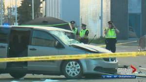 Speed, alcohol considered factors in fatal west Edmonton collision (01:36)
