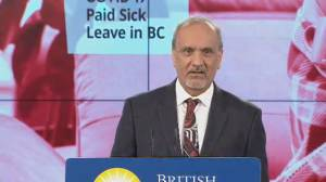 Labour minister explains how B.C.'s paid sick day program will work (03:38)