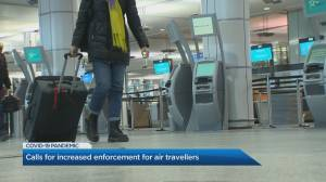 Growing calls for stricter air travel measures in Canada (02:04)
