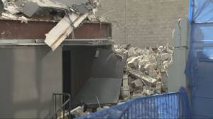 One person killed, one injured in North Vancouver structure collapse (01:52)