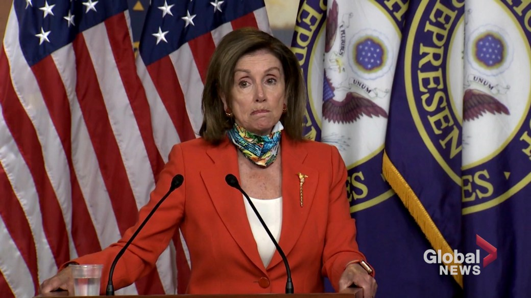 Click to play video 'George Floyd Death: Floyd's killing would have been prevented if Dems' bill was law, Nancy Pelosi claims'