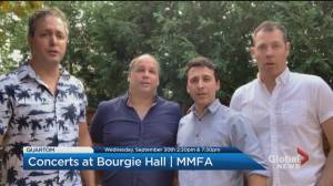 Community Events: Concerts at Bourgie Hall (00:50)