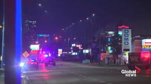 Suspected gunman killed by Edmonton police Tuesday night near southside hotel (01:33)
