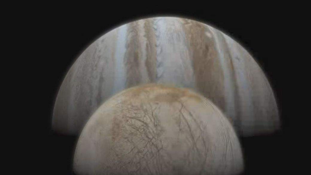 Click to play video 'NASA finds water vapour on one of Jupiter's moons'