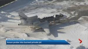 Police, fire marshal investigating jet arson at Buttonville Airport