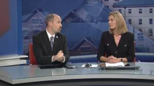 Kingston Mayor Bryan Paterson visits Global News Morning