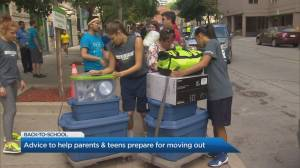 Advice to help parents and teens prepare for moving out