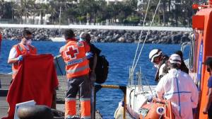 Spanish coast guards rescue more than 70 migrants in Atlantic Ocean
