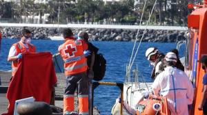 Spanish coast guards rescue more than 70 migrants in Atlantic Ocean