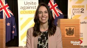 New Zealand PM not fazed by earthquake during TV interview