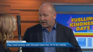 How you can play street hockey with Wendel Clark