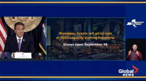 Broadway, MLB to return to NYC as U.S. ramps up COVID-19 vaccine rollout: Gov. Cuomo (01:14)