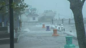 Halifax seeing full force of Hurricane Dorian as landfall expected soon (01:00)