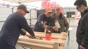 North Okanagan non-profit organization building beds for youth (02:11)