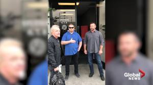 Video purports to show longtime Aerosmith drummer Joey Kramer turned away at practice