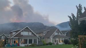 B.C. wildfires: Nk'Mip Creek wildfire forces evacuations near Osoyoos (02:11)