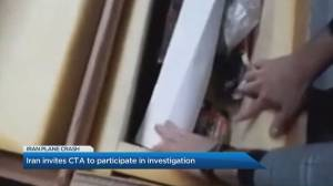 How is Iran handling the black box from Ukraine International Airlines Flight 752?