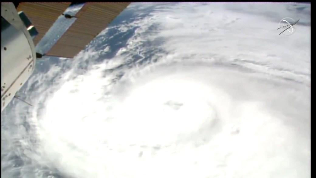 Click to play video 'Hurricane Zeta: Powerful storm brings life-threatening storm surge to Louisiana'