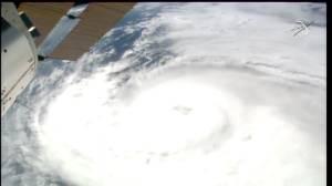 Hurricane Zeta: Powerful storm brings life-threatening storm surge to Louisiana (01:34)