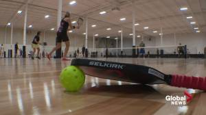The Center volleyball and pickleball facility opens in south Edmonton (02:30)